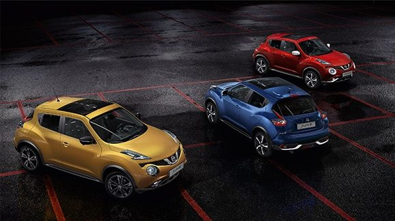 Nissan JUKE Red Touch
