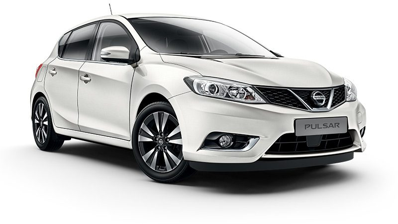 Nissan Pulsar Acenta - 3/4 front view