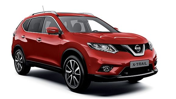 Nissan X-TRAIL vu de 3/4 face
