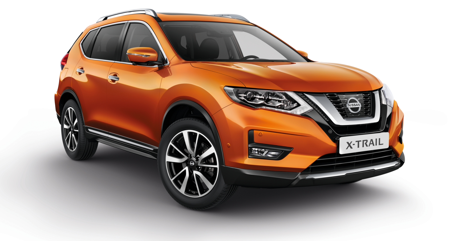 Photo de face du Nissan X-TRAIL