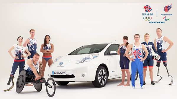 Nissan teams up with Team GB & ParalympicsGB