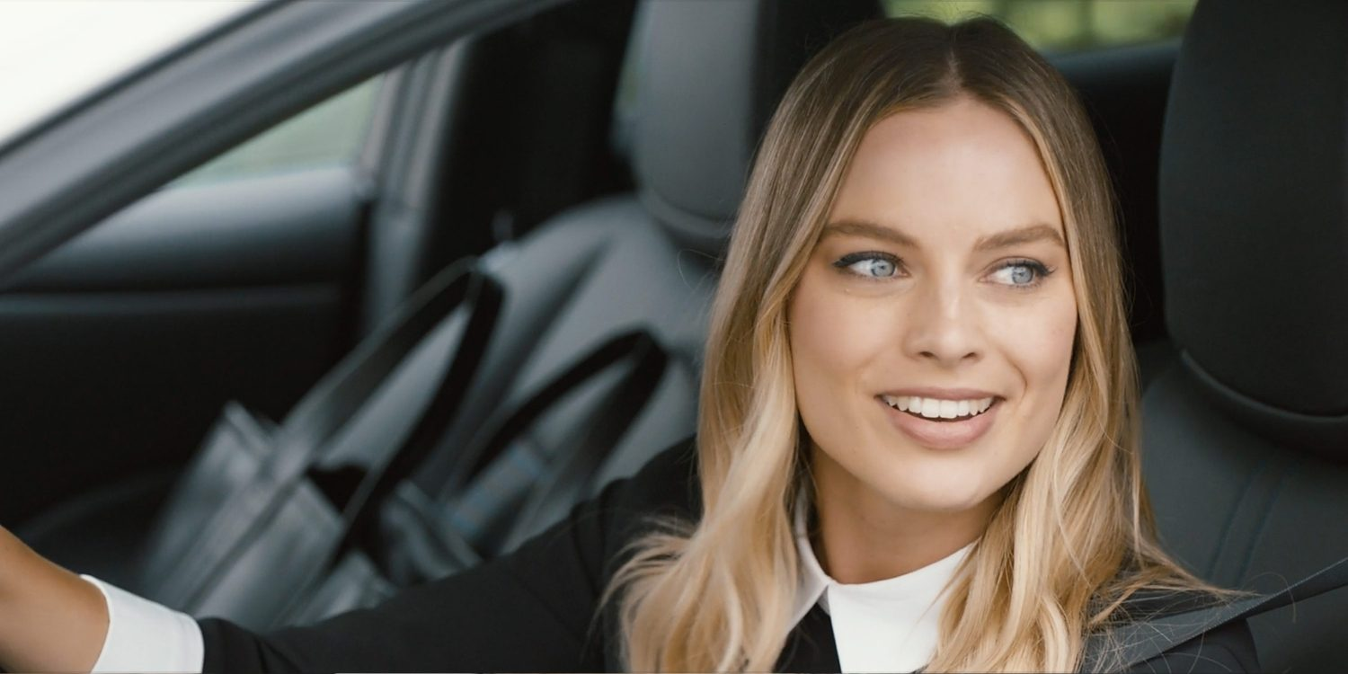 Nissan Electric Vehicle ambassador Margot Robbie