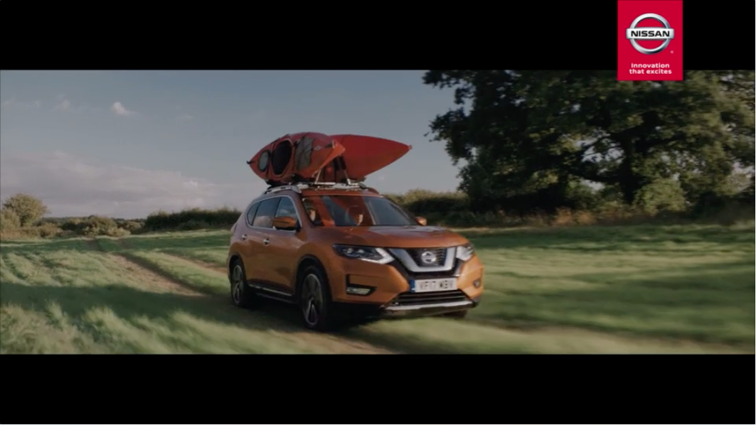 The New Nissan X-Trail partners with Sky Sports