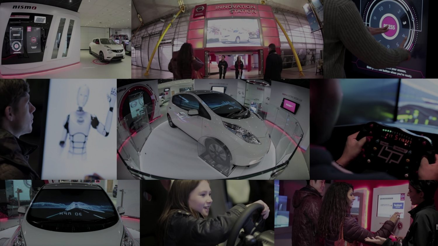 THE NISSAN INNOVATION STATION