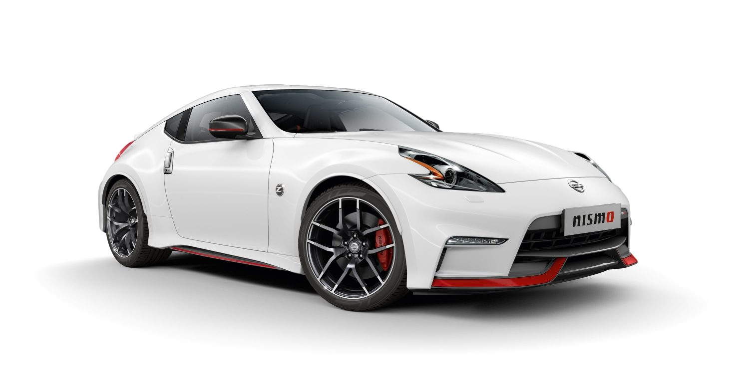Nismo nissan 370z 7 8 front views