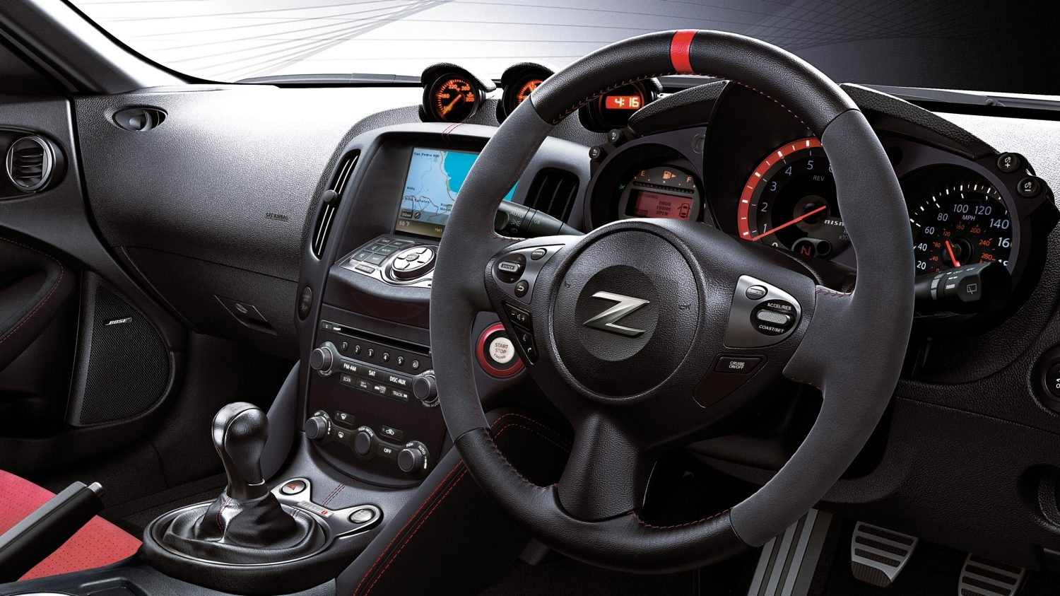 Nismo nissan 370z steering wheel