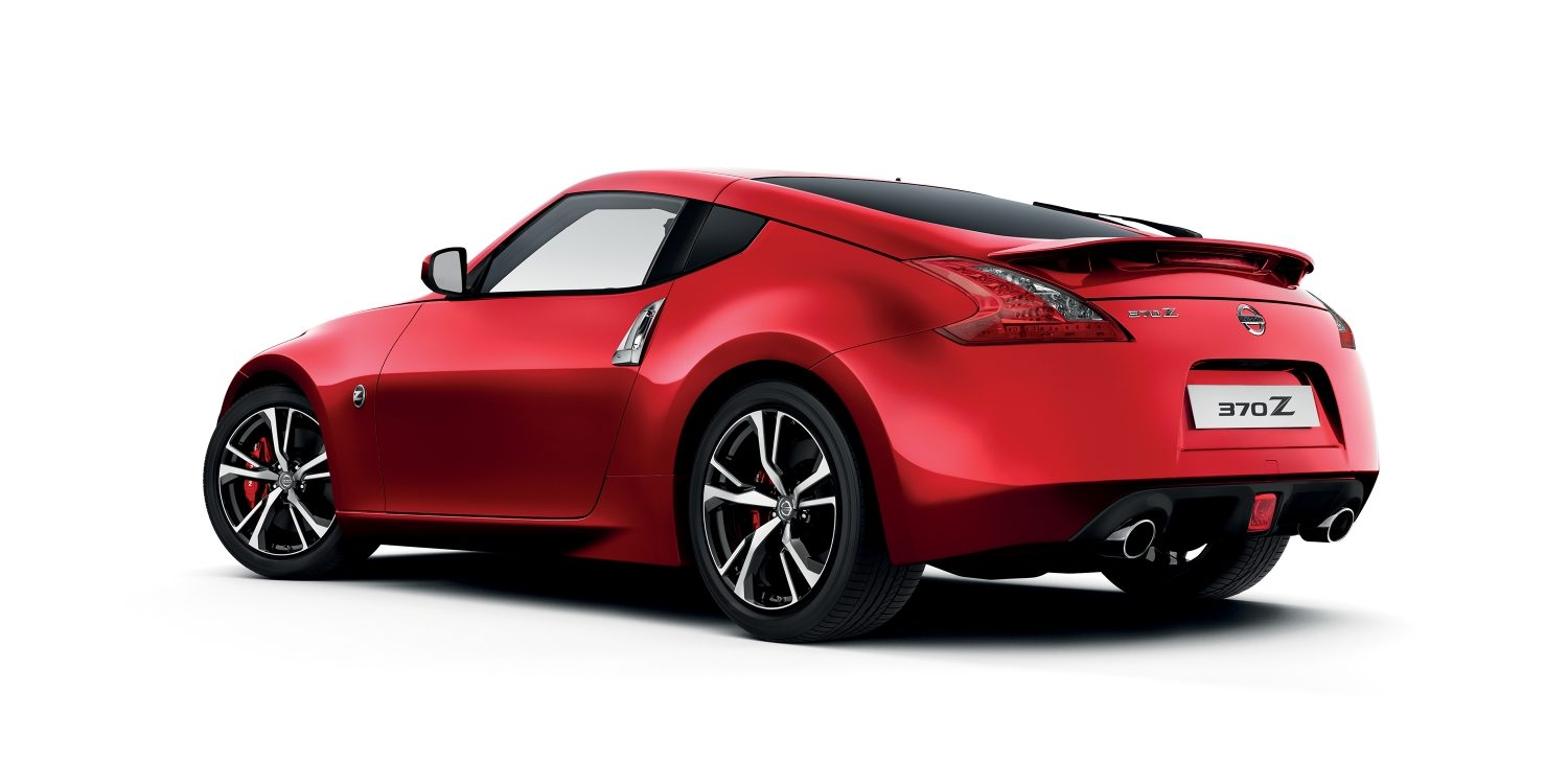 Nissan Z Coupe Sports Car Nissan - Red sports car