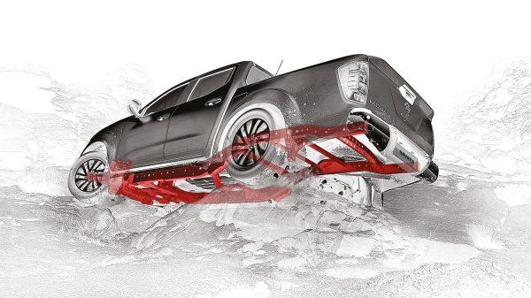 Navara   Nissan   Five-link rear suspension
