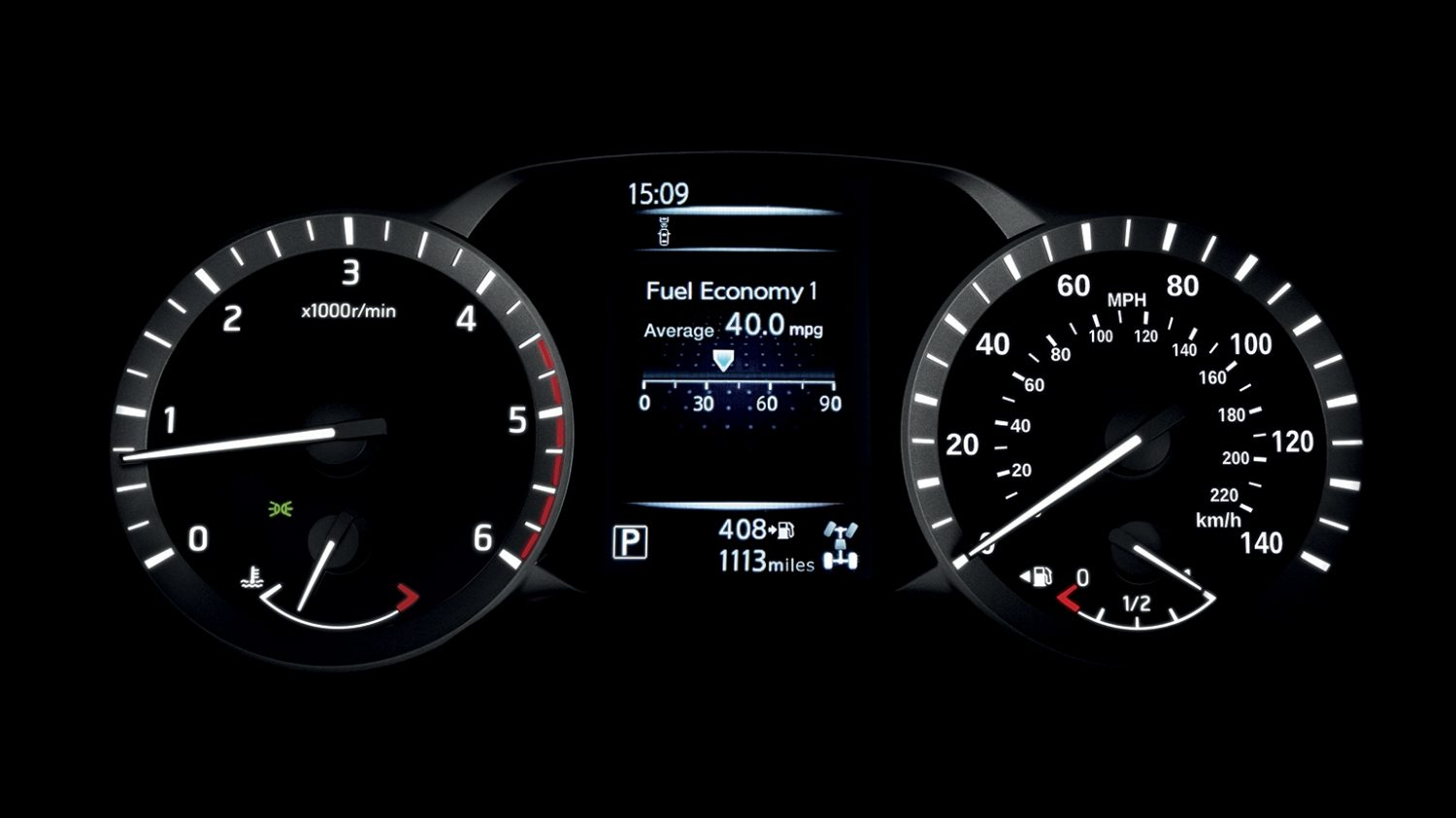 Nissan Navara - Drive-assist display