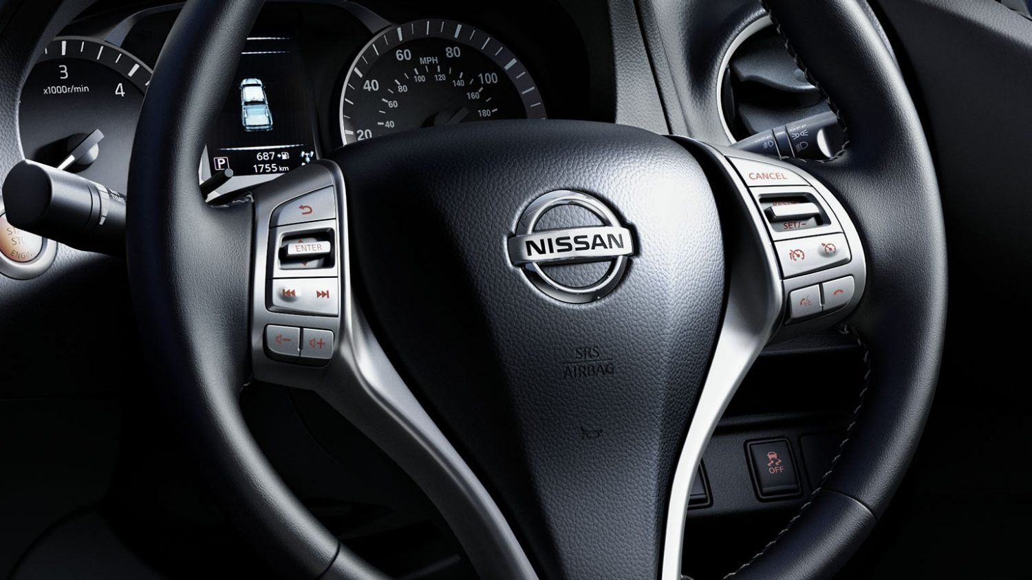 Navara | Nissan | Steering wheel