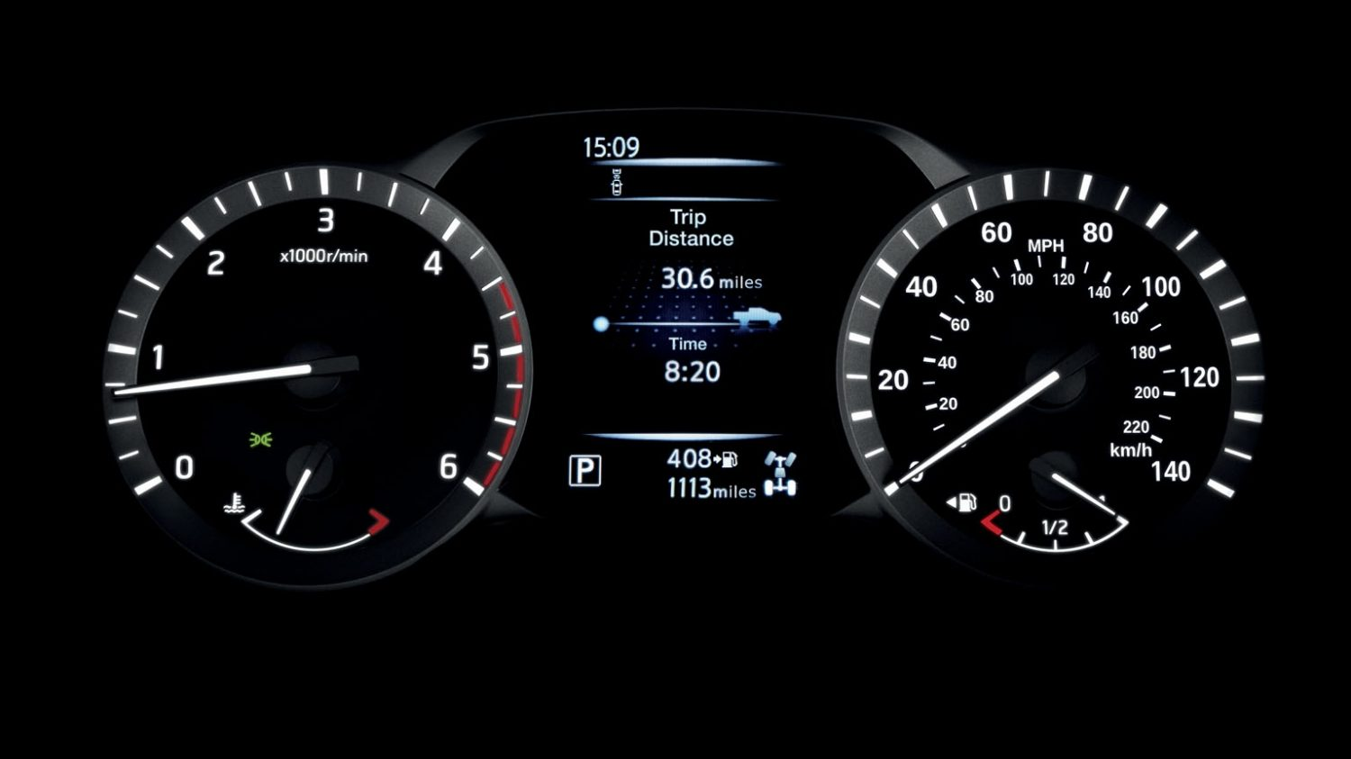 Nissan Navara - Trip distance display