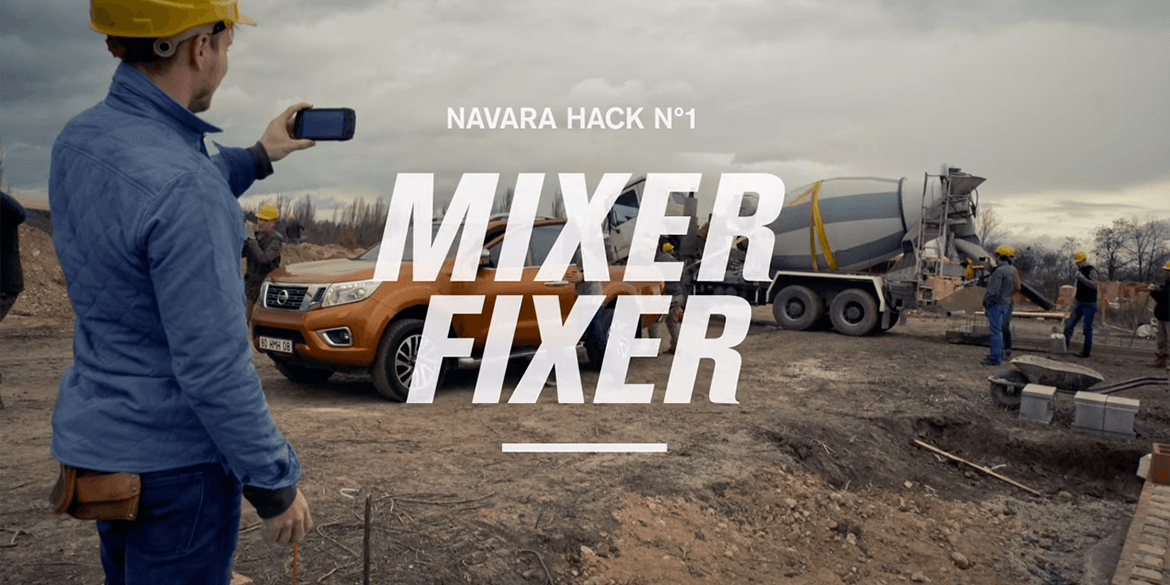 NP300 Navara Work Hack No. 1 Mixer-Fixer