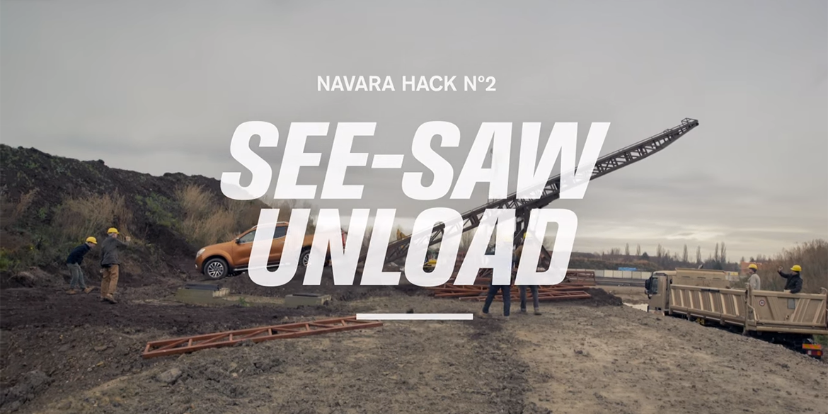 Navara Work Hack No. 2 See-Saw Unload