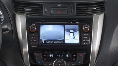 Navara | Nissan | Around View Monitor display