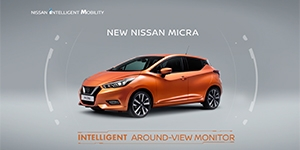 The All-New Nissan Micra: Intelligent Around-View Monitor