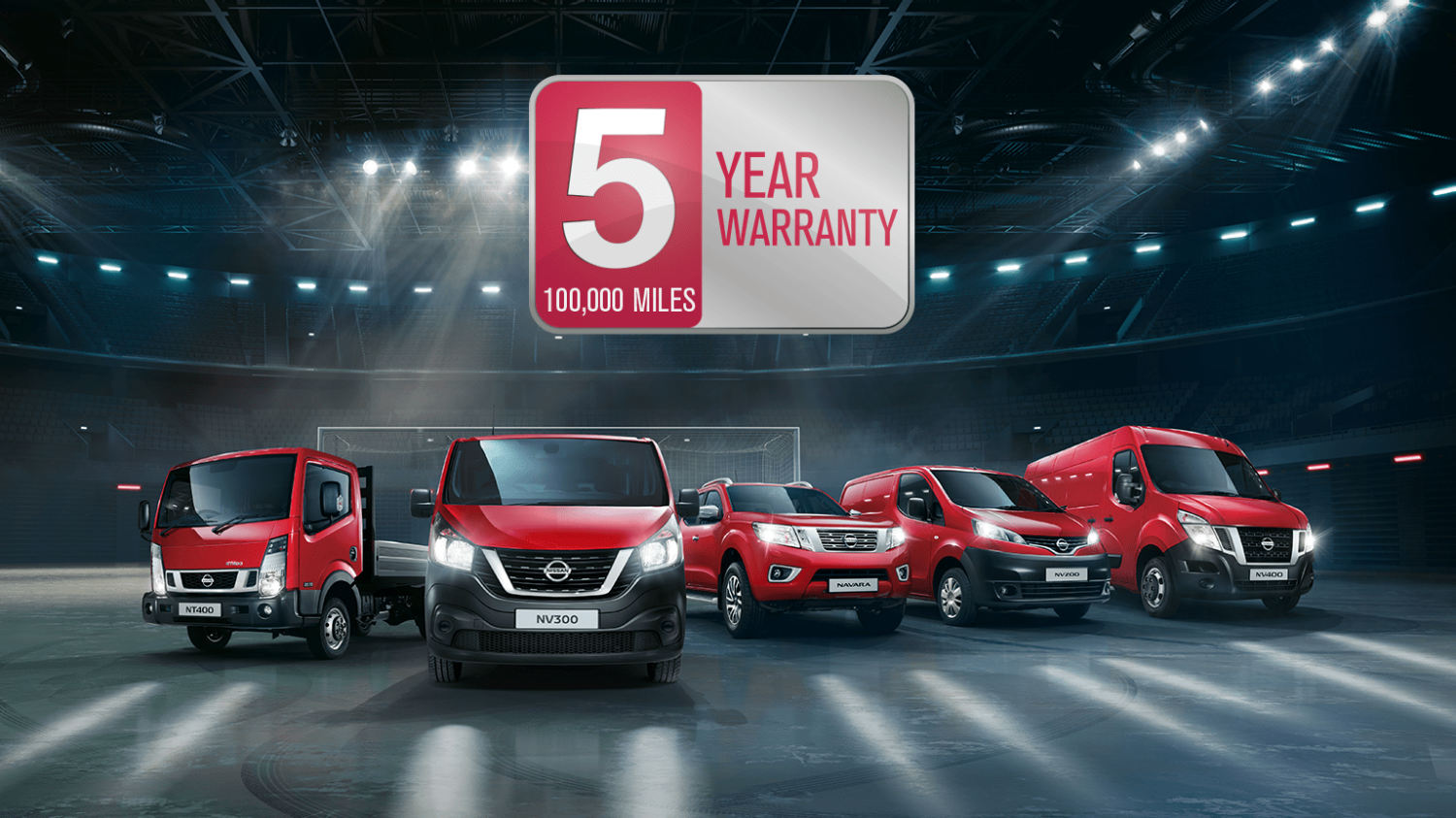 Nissan | Commercial vehicles range video demo