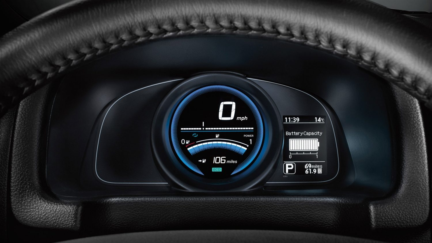 Nissan e-NV200 Evalia - Dashboard detail