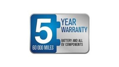EV 5 year warranty logo