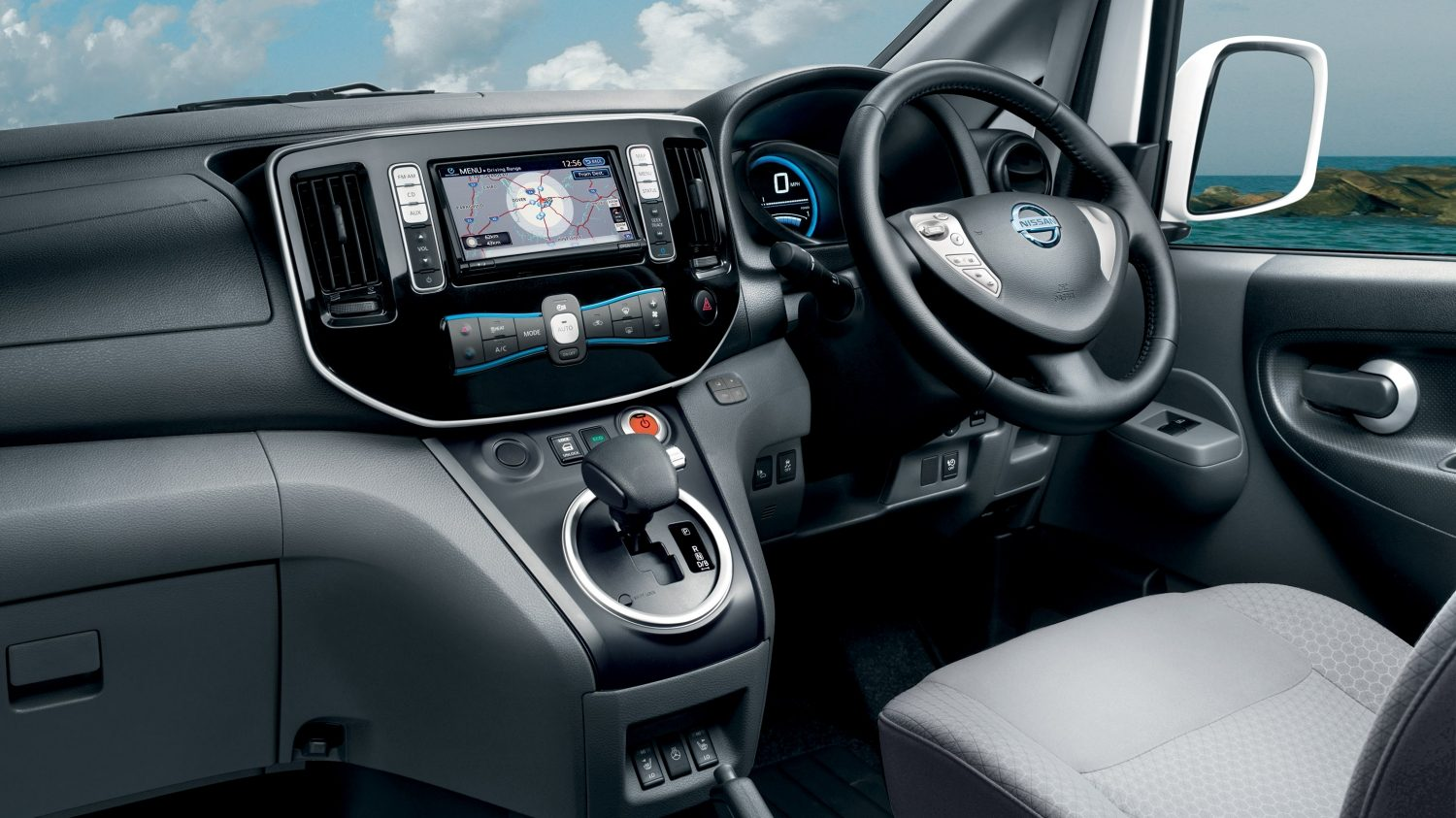 Van | Nissan e-NV200 | Electric van interior