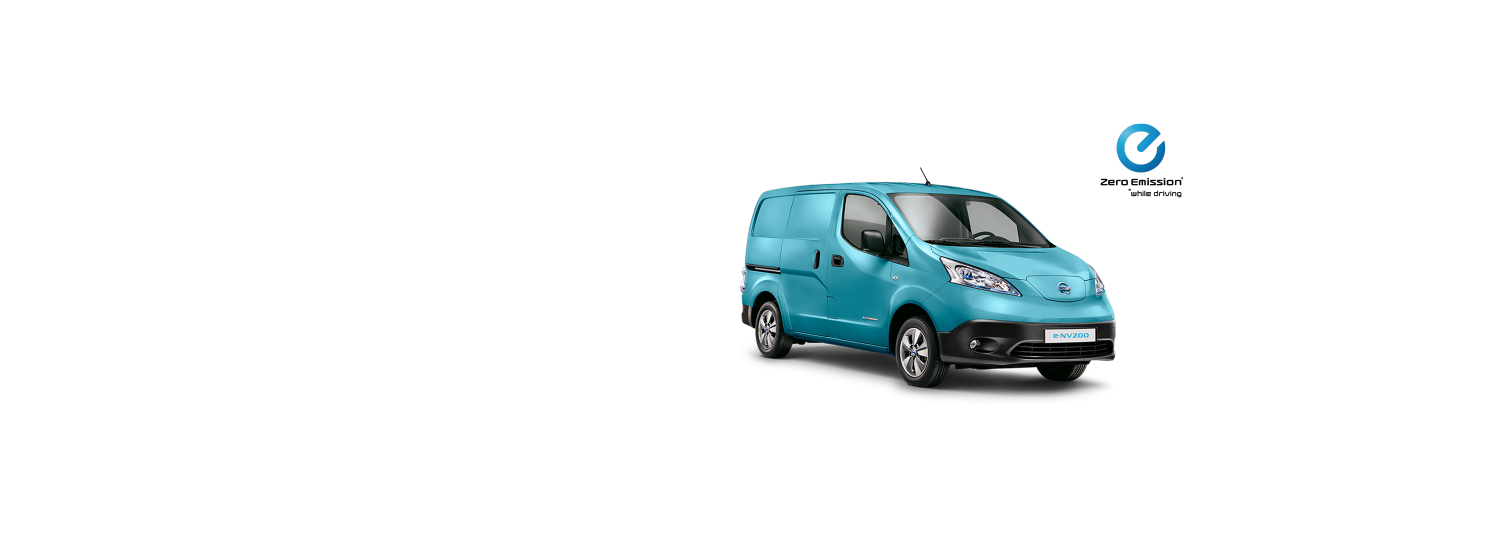 Nissan e-NV200 Van - Light Blue
