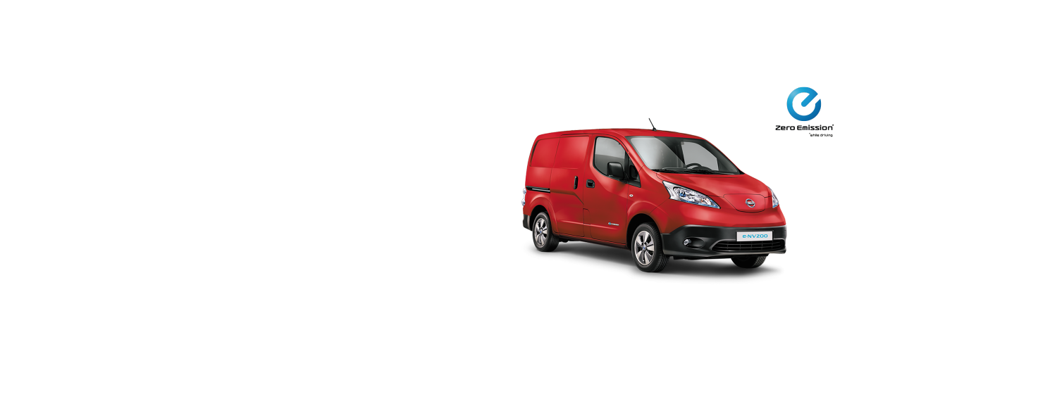 Nissen e-NV200 Van - Solid Red