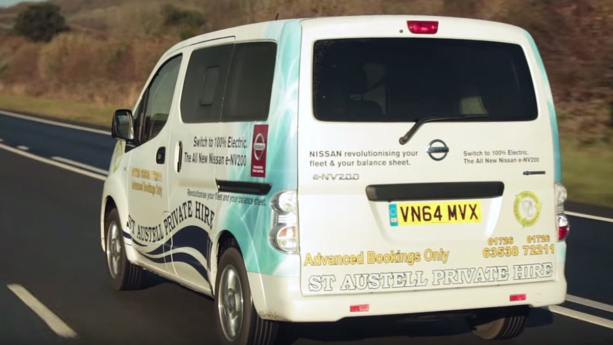 Van | Nissan e-NV200 | Electric van demo video