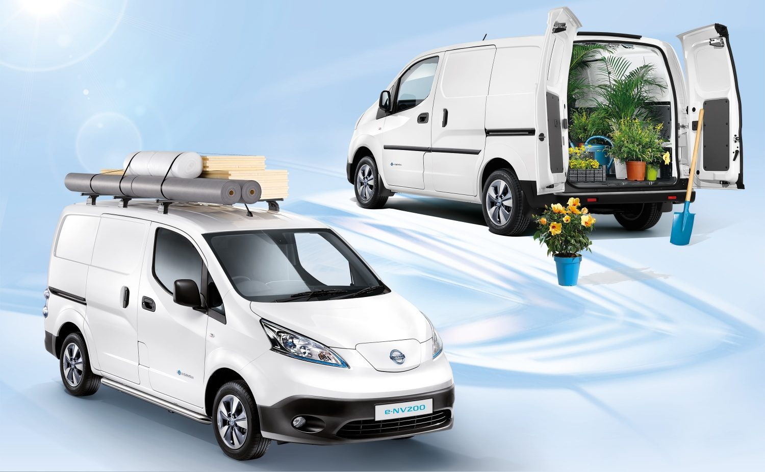 Van | Nissan e-NV200 | Electric van on the road