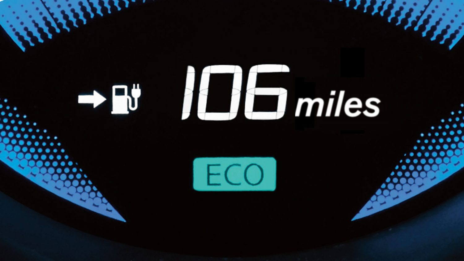 Van | Nissan e-NV200 | Battery charge display