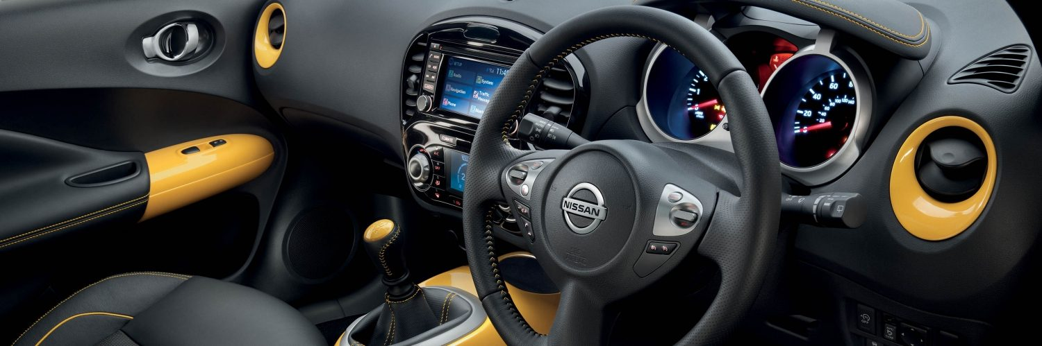 Nissan Juke | Small SUV interior