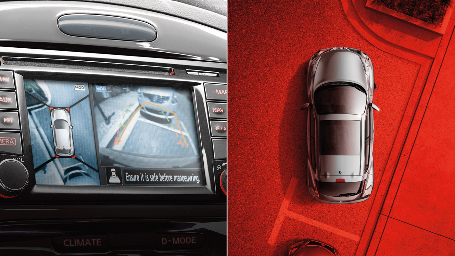 Compact & mini SUV features - View monitor | Nissan Juke