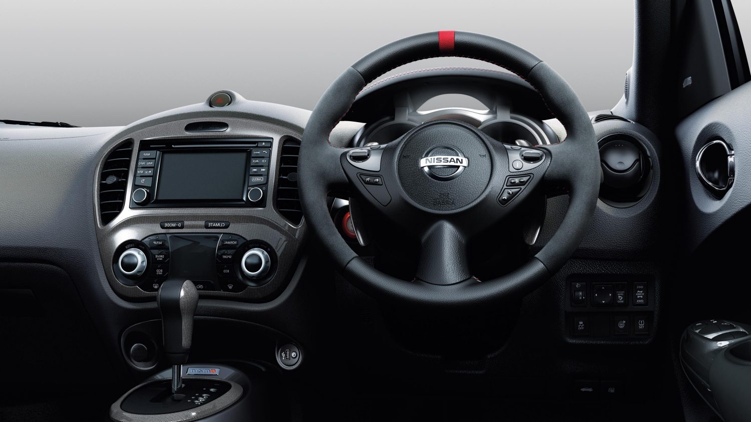 Compact & mini SUV Nismo RS - Small SUV interior | Nissan Juke