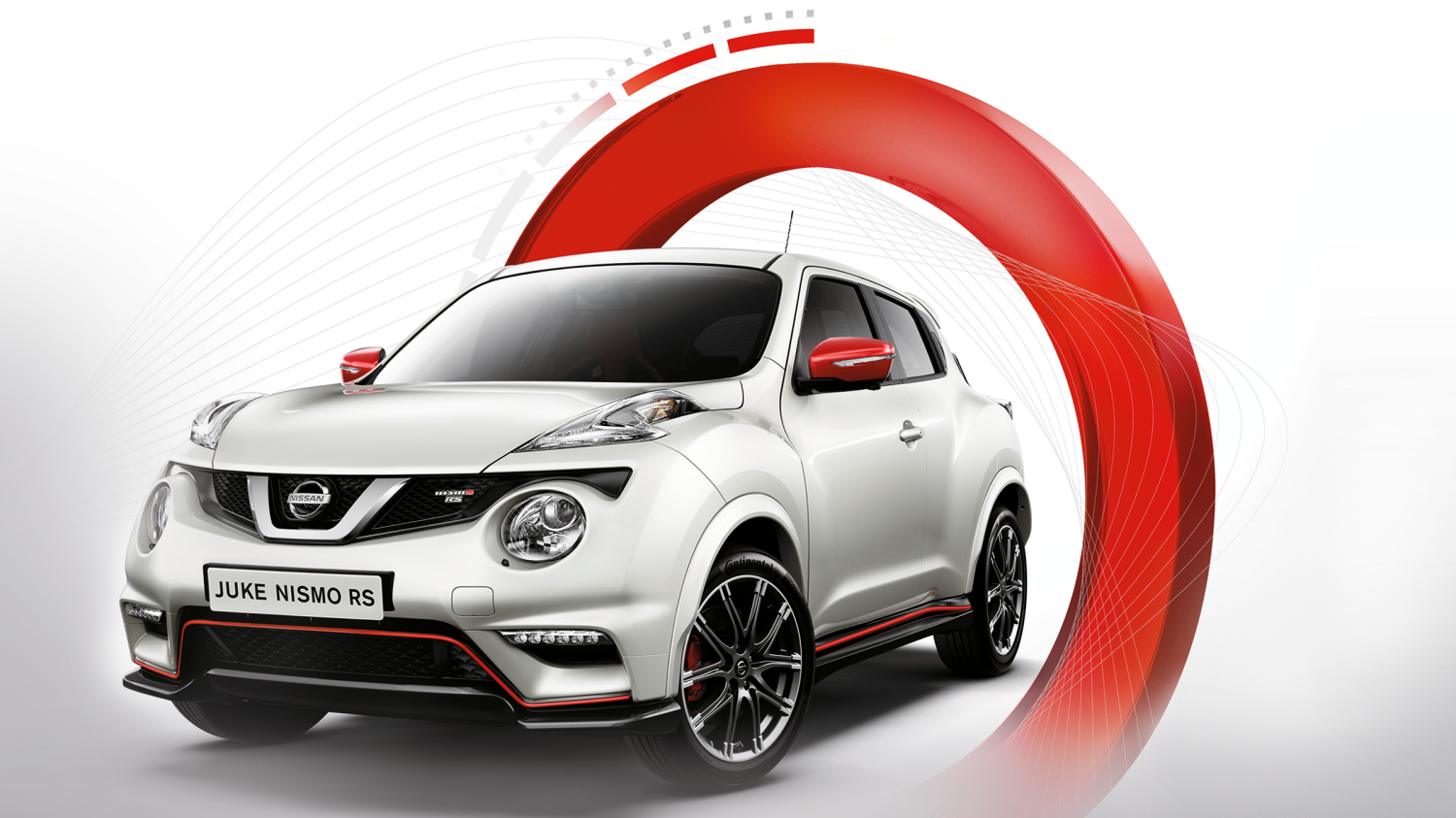 Nissan Juke NISMO RS - front view