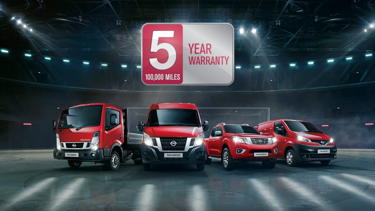 Nissan | Commercial vehicles range