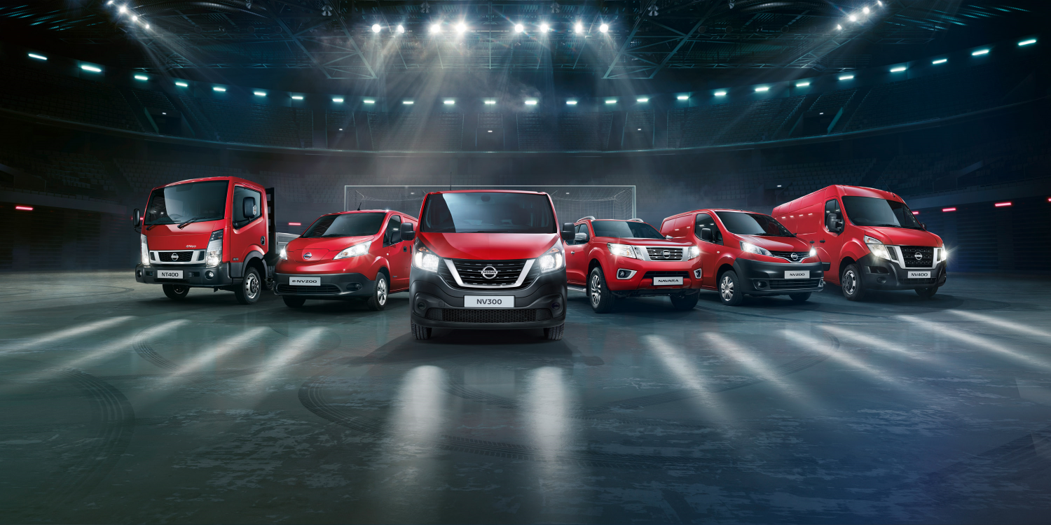 Nissan commercial vehicles range video demo