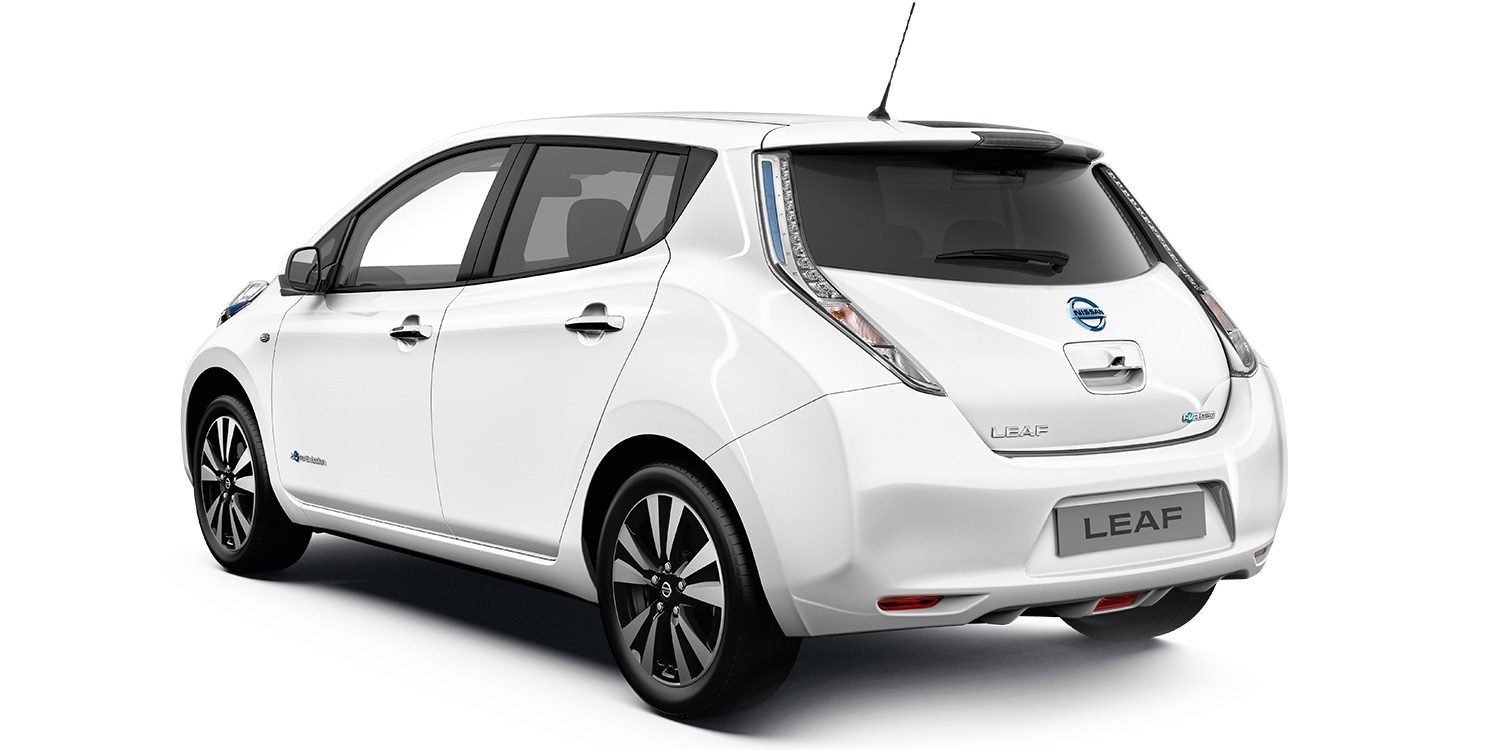 Nissan LEAF | Profile angle of vehicle