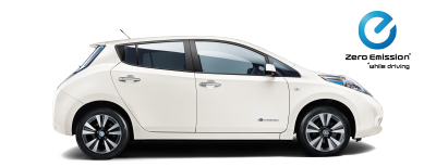 Nissan Leaf - Side view
