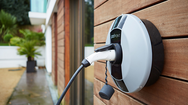 Nissan LEAF | POD Point Home charger