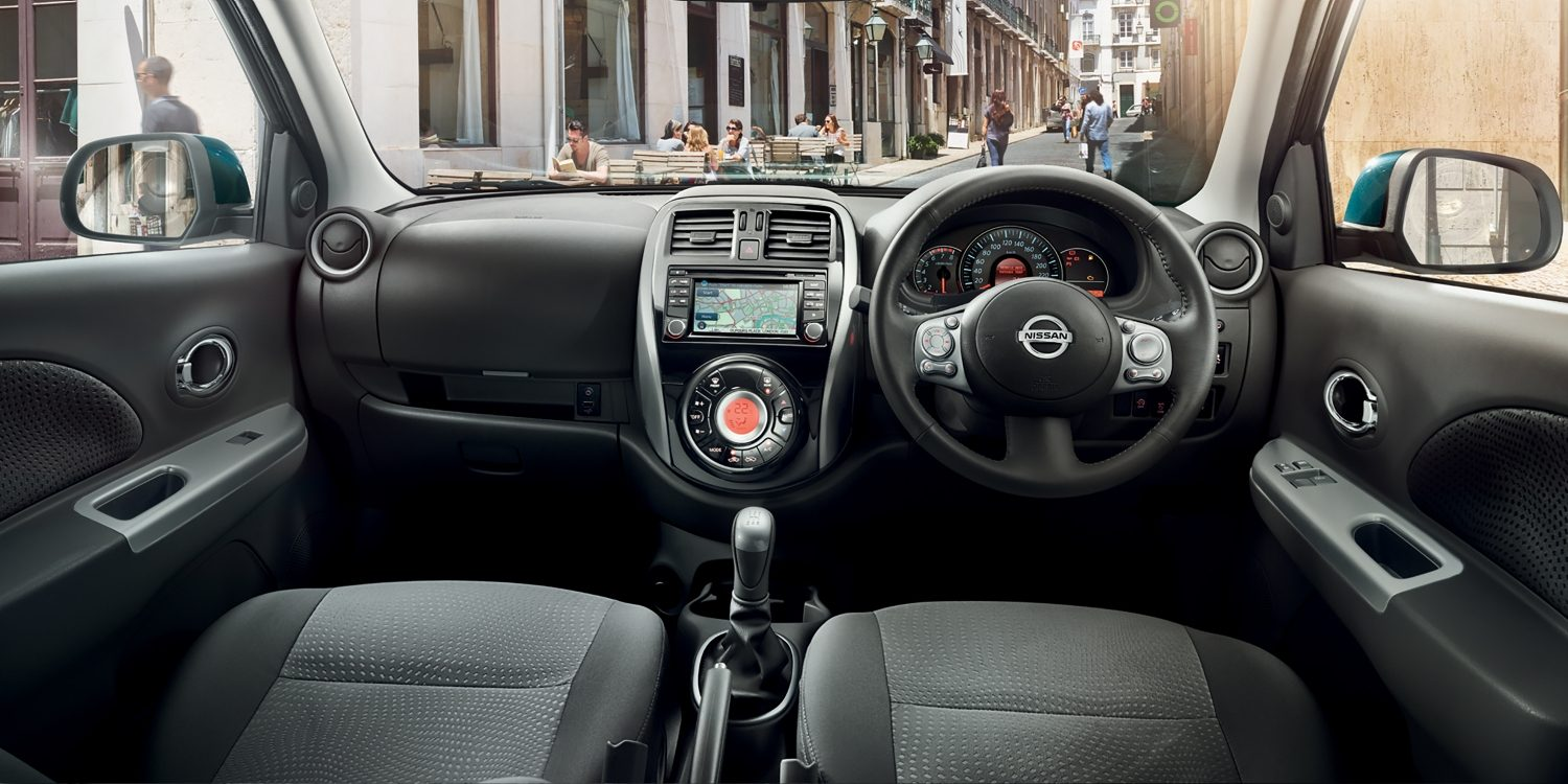 Nissan Micra | City car interior
