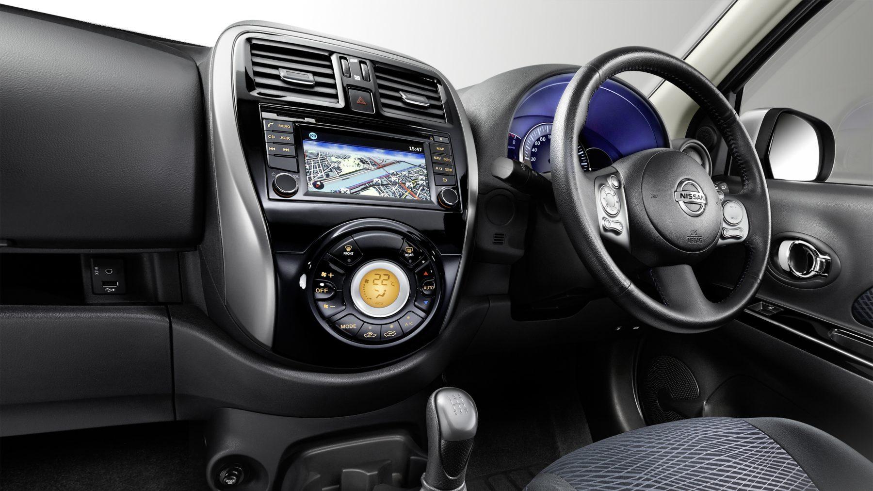 Nissan Micra - NissanConnect system