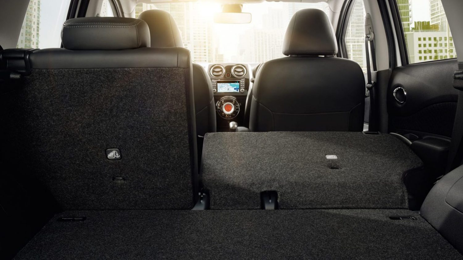 Nissan Note - 60/40-split configuration