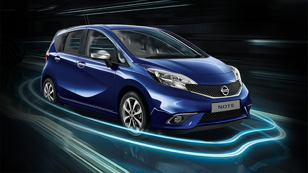 Nissan Note - Safety shield