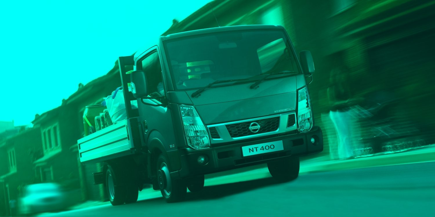 Cabstar | Nissan NT400 | Chassis cab on the road