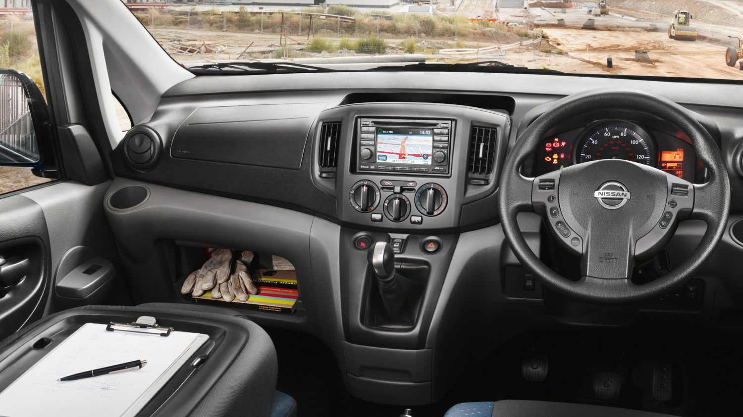 Van | Nissan NV200 | Commercial vehicle interior