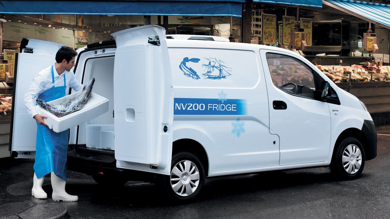 Van | Nissan NV200 | Commercial vehicle in use