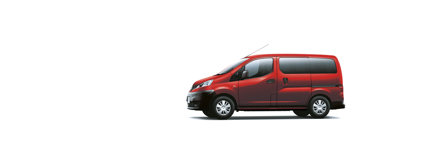 Nissan NV200 Evalia - Flame Red