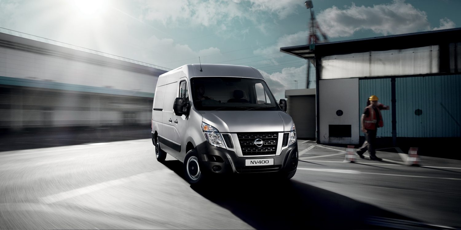 Nissan NV400 - Extended grip system to optimise traction