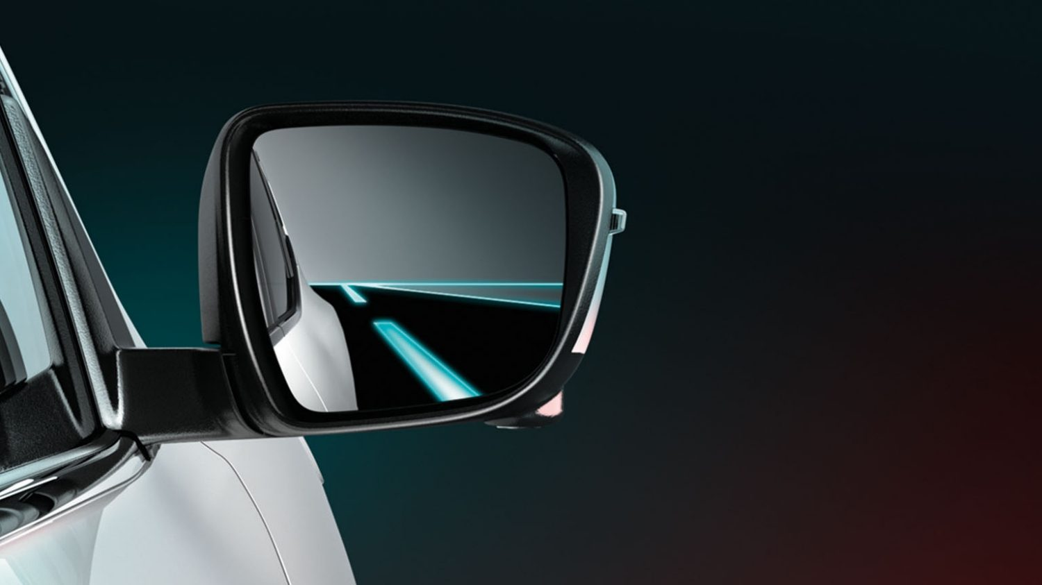 Nissan Pulsar – Hatchback | Side view mirror blind spot warning
