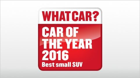 Small SUV - Car of the year | Nissan Qashqai