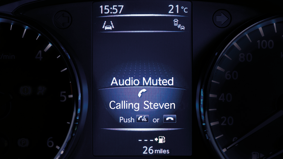 Small SUV features - Drive-Assist Display call | Nissan Qashqai