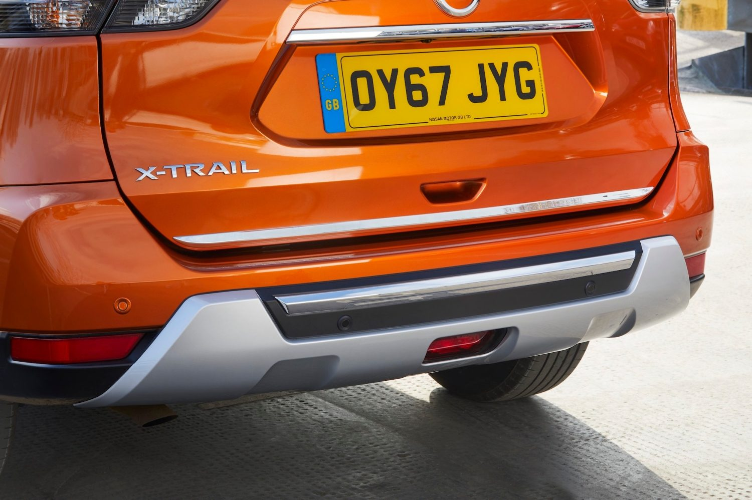 Platinum Edition Rear Chrome Styling Plate
